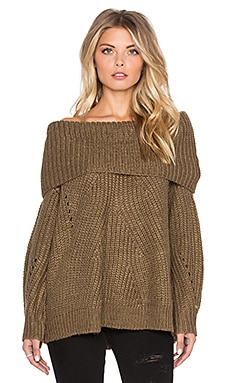 Somedays Lovin Vanessa Knit Sweater in Khaki