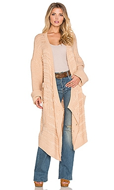 Somedays Lovin High Hopes Knit Cardigan in Latte