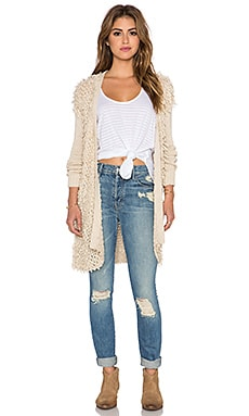 Somedays Lovin Expectation's Knit Cardigan in Ecru
