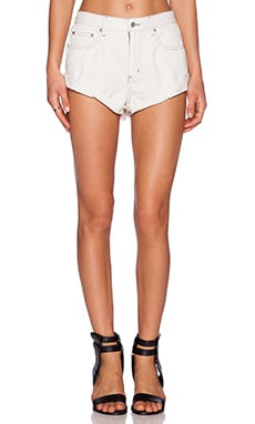 Somedays Lovin Skeleton Rigid Fairlane Short in White