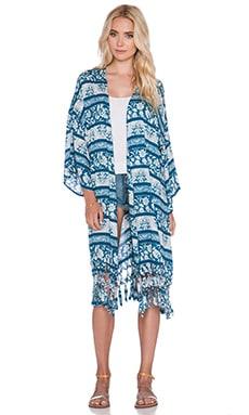 Somedays Lovin indigo Wind Kimono in Multi