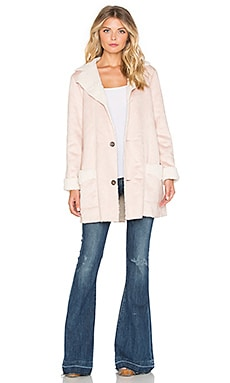Sunny Afternoon Coat in Blush
