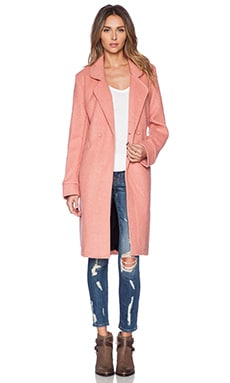 Somedays Lovin The Venkman Coat in Pink