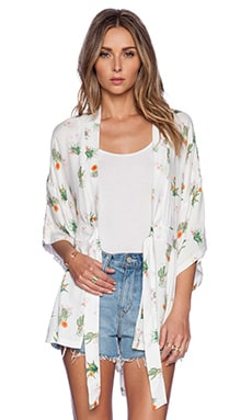 Somedays Lovin How Sweet It Is Cactus Kimono in Multi