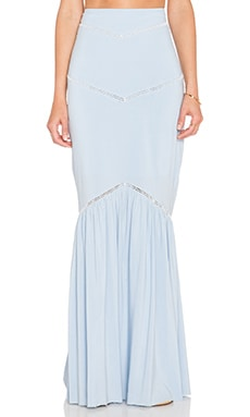 Somedays Lovin Wilde Horses Maxi Skirt in Blue