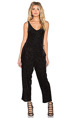 Somedays Lovin Morrison Jumpsuit in Black
