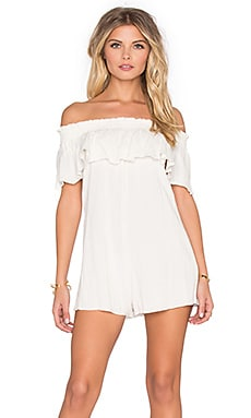 Somedays Lovin Bohemia Romper in Bone