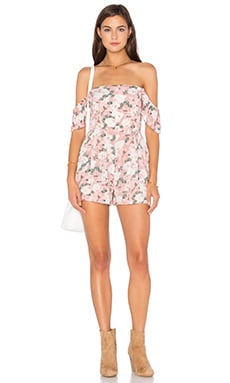 Somedays Lovin Bridget Floral Romper in Multi
