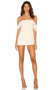 Somedays Lovin Exhale Romper in Lemon