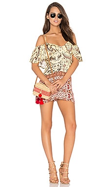 Sounds of Heart Playsuit in Multi