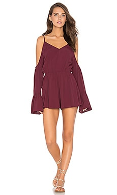 Desert Storm Romper in Wine