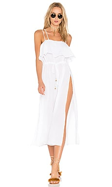 Drift Ashore Jumpsuit in White