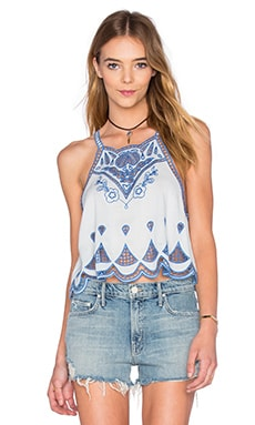 Azul Cutwork Top