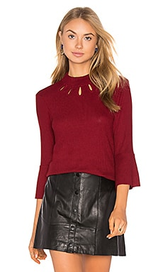West Virgina Sweater in Wine