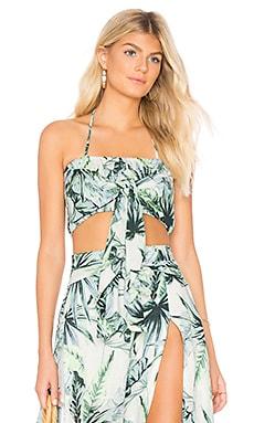 Palm Fringed Crop Top Somedays Lovin $16 (FINAL SALE)
