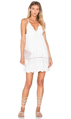 Somedays Lovin Song Bird Anglaise Dress in Off White