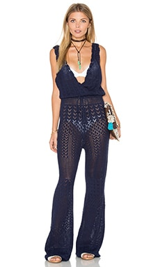 Somedays Lovin September Blue Jumpsuit in Indigo