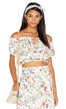Somedays Lovin Sunny May Off The Shoulder Top in Multi