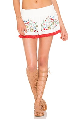 Somedays Lovin Leonie Embroidered Shorts in Multi