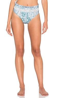 Free Falling Bikini Bottom in Multi