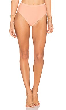 Sun Beat Down Bikini Bottom in Apricot