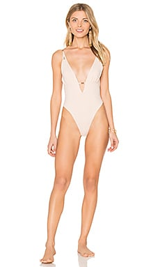 Blooming Dunes One Piece in Nude