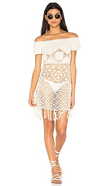 Bay Breeze Off Shoulder Crochet Dress
