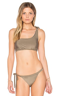 Sunspell One Shoulder Bikini Top