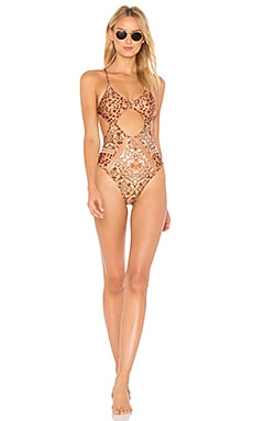 Golden Sands One Piece Swimsuit