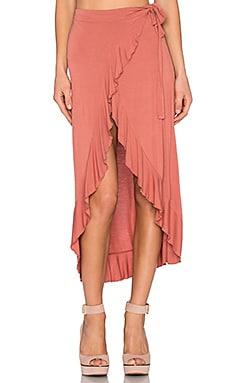 Ammu Wrap Midi Skirt