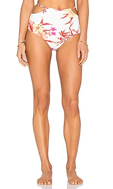 Somedays Lovin Zinnia Soft Cup Bikini Bottom in Multi