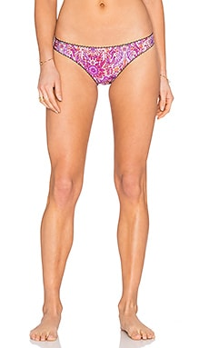 Somedays Lovin Paisley Heat Bikini Bottom in Multi