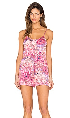 Somedays Lovin Paisley Heat Romper in Multi