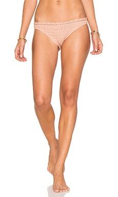 Somedays Lovin Daphne Bikini Bottoms in Peach