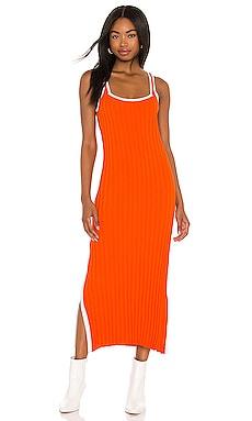 Kimberly Dress Solid & Striped $228
