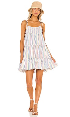 The Parker Dress Solid & Striped $238