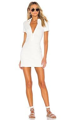 Rib Zip Dress Solid & Striped $138 NEW ARRIVAL