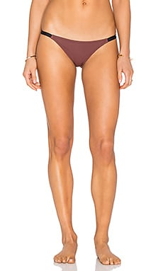 Solid & Striped The Morgan Bottom in Brown Black