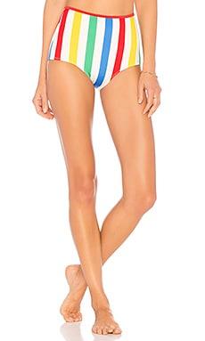 The Brigitte Bikini Bottom Solid & Striped $88