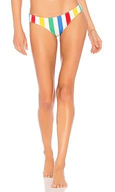 The Ellie Bikini Bottom Solid & Striped $58
