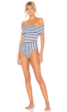 The Vera One Piece Solid & Striped $168 BEST SELLER