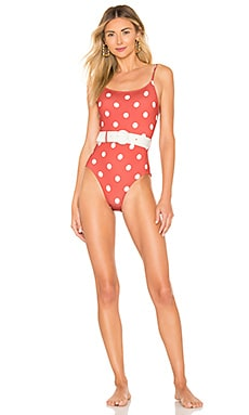 655254b751 The Nina Belt One Piece Solid & Striped $90 ...