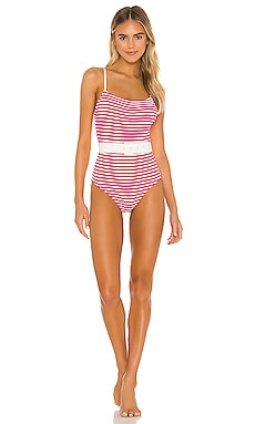 Nina One Piece Solid & Striped $178 NEW ARRIVAL