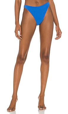 Elsa Bikini Bottom Solid & Striped $88 NEW