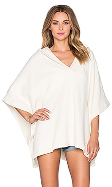 Solid & Striped The Beach Cape in Cream