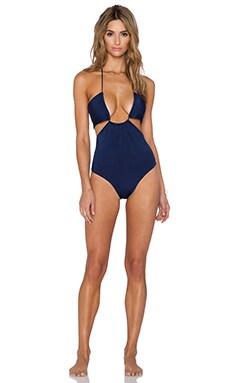 Salt Swimwear Marlena Swimsuit in Navy