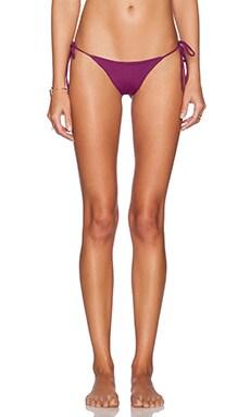 Salt Swimwear Alex Bikini Bottom in Plum