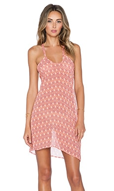 Salt Swimwear Tala Dress in Sahara Peach