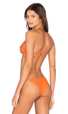 Stacia Bikini Top in Copper