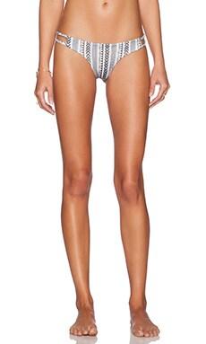 Salt Swimwear Paige Bikini Bottom in Fez